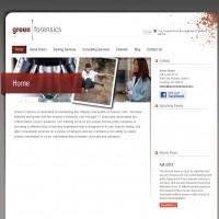 Green Forensics WordPress site