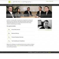j.jenkins+company static site build